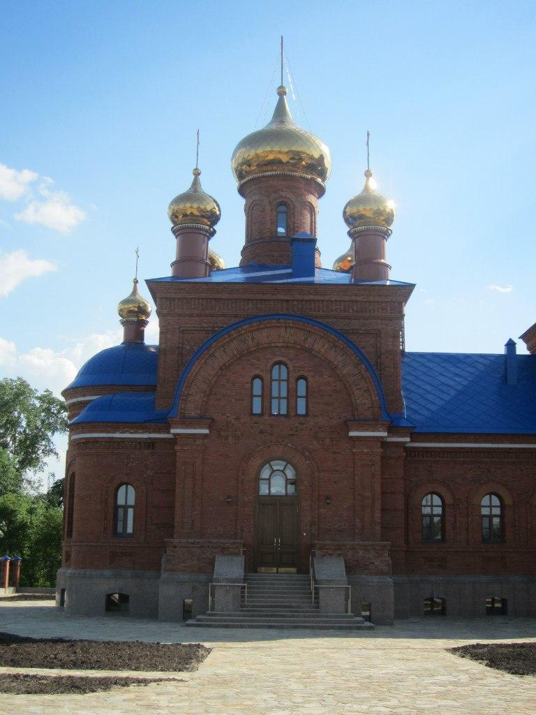 Главный придел храма (03.07.2014)