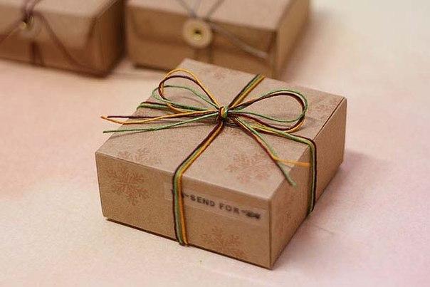 Большие коробки для подарков своими руками
