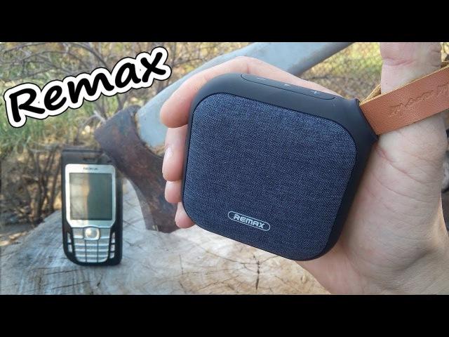 Bluetooth колонка Remax RB-M15   маленькая но мощная