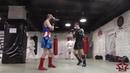 Тренировка от 21 июня по ударке, защита от хай кика.