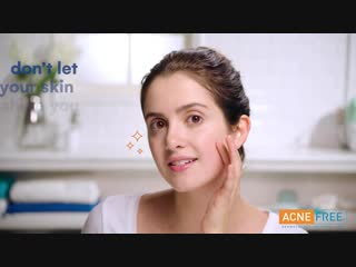 Рекламный ролик косметического бренда «acne free» (2019)
