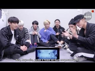 [RUS SUB][BANGTAN BOMB] BTS MIC Drop MV reaction - BTS