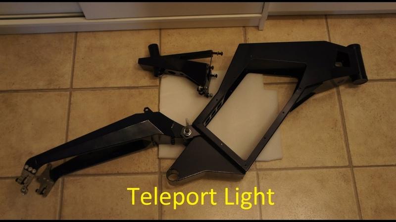 Обзор рамы электровелосипеда Teleport Light, часть 1