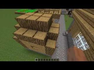 Современная деревня #1 ( minecraft )