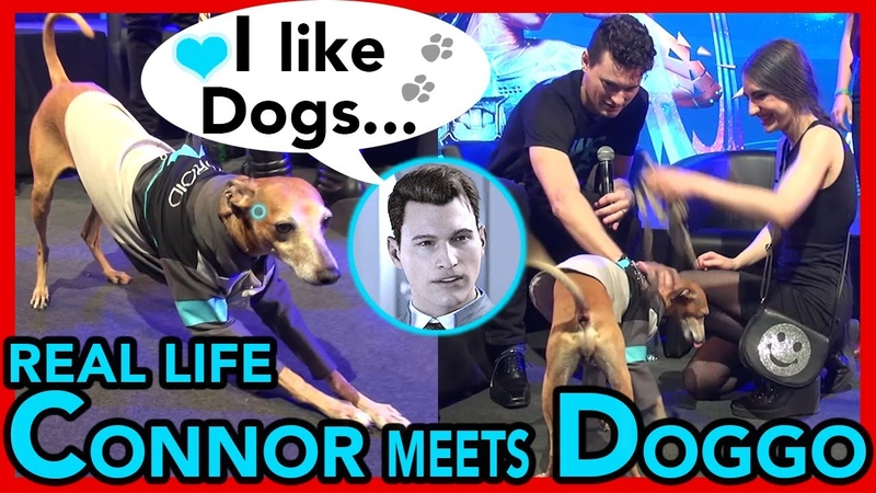 Real Life CONNOR Bryan Dechart LIKES DOGS TOO 💙 🐾