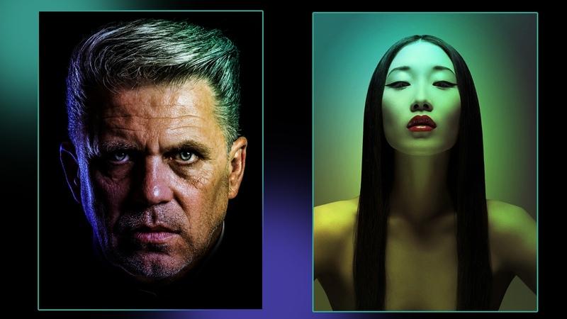 Эффект цветной подсветки в Фотошоп Цветное свечение и контровый свет в Фотошопе