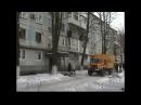 Жёсткий обстрел Донецка. Зима 2017 Киевский район. Судьба корча ВАЗ 2106