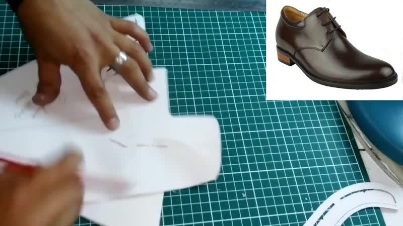 Modelaje de calzado curso 2 despiezar modelo derby DTTALENTO