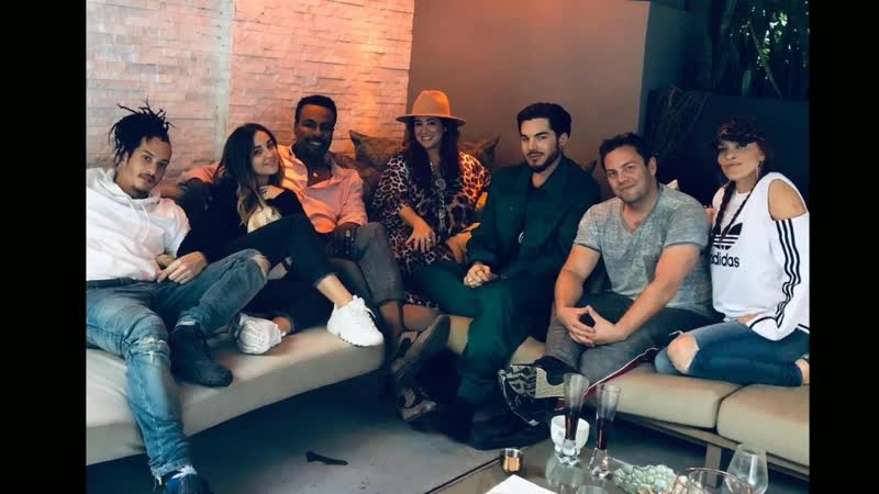 Adam Lambert _ Sunday Brunch at his house with Zodiac family 2018-11-25 (1080p)