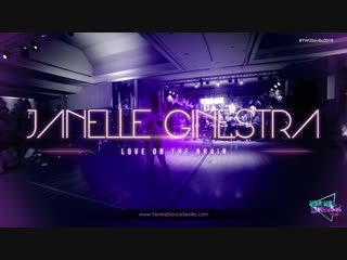Janelle ginestra   love on the brain by rihanna   yes we dance sevilla 2018
