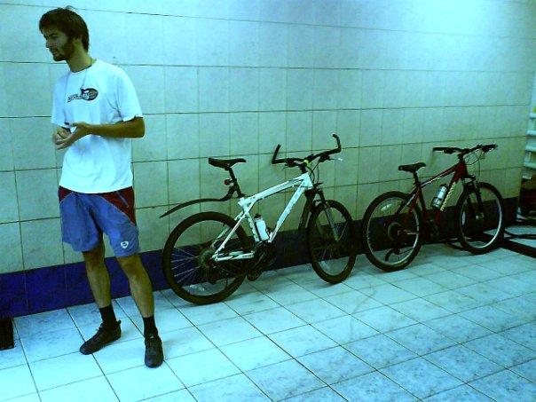 велосипеды на втомойке