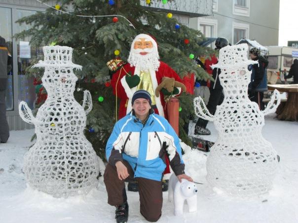 Водяники. Умка, Дед Мороз, я и снеговички