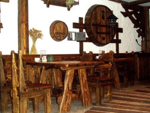 Уникальный интерьер в стиле немецких bierstube пивных ресторанчиков...