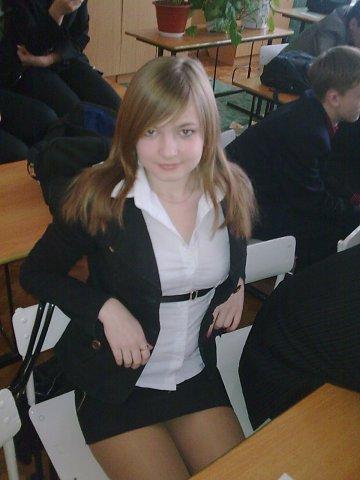 малолетка школьница