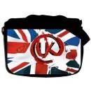 Сумка-почтальонка Британский флаг, Large school-311.