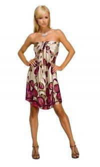 Именно для того существуют роскошные платья...  1. Платья с леопардовым...