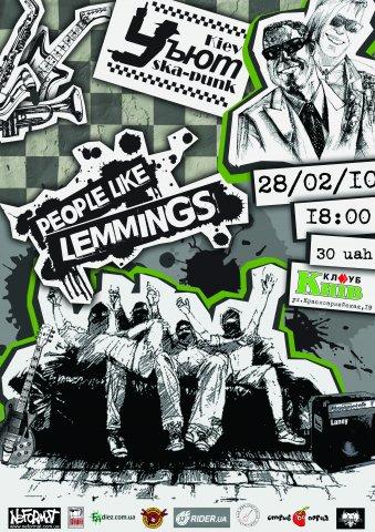 Уъют, People Like Lemmings - 28.02.10 Клуб Майдан (к-тр Киев)