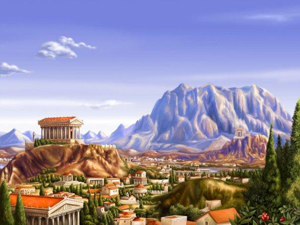 Зевс может благословить любое здание вашего города, от чего оно начинает работать производительнее.