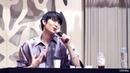 Fancam 180817 VIXX Leo Talk full @ Dongdaemun Fansign