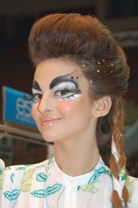 конкурсные прически и макияж фото 2010-2011