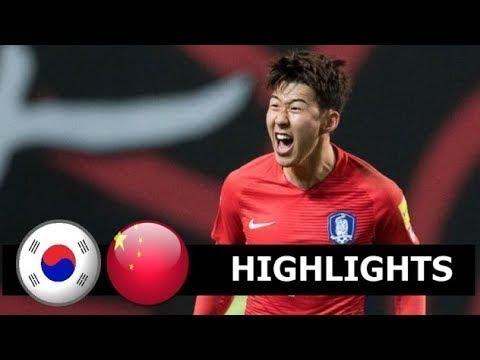 South Korea vs China 2-0 Highlight All Goals 2019 HD
