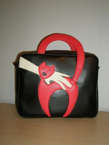 сумка Красная кошечка.
