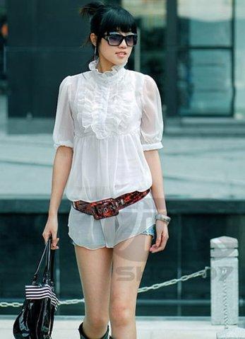 Во сне купить белую блузку