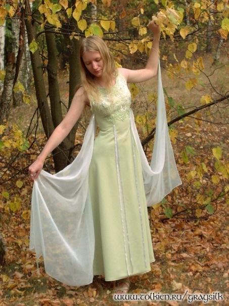 """Модель 2  """"Зеленое с серебром """" - Вечерние платья - Свадебные и вечерние..."""