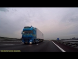DAF XF105 PURE SOUND! WALTER PAPE ROLLING FOOTAGE