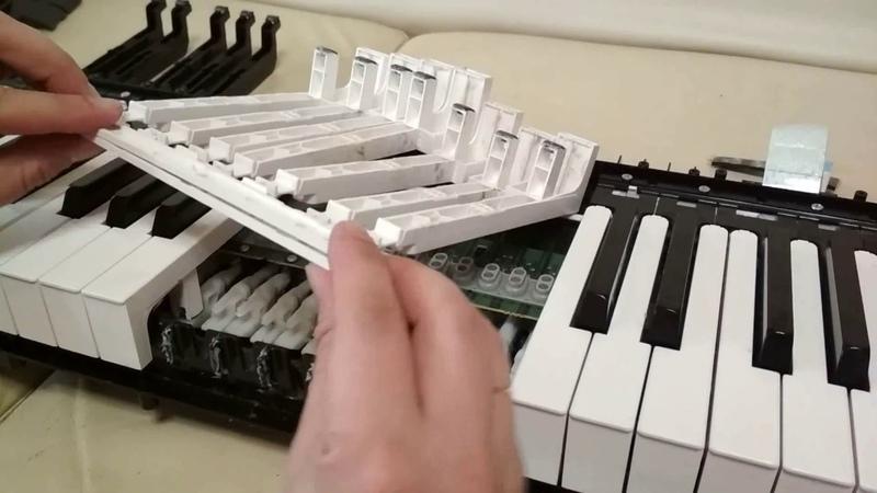 Техническое обслуживания клавиатуры электронного пианино Yamaha P-105