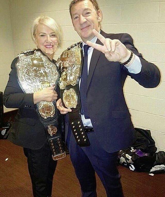 Родители Конора МакГрегора после UFC 205