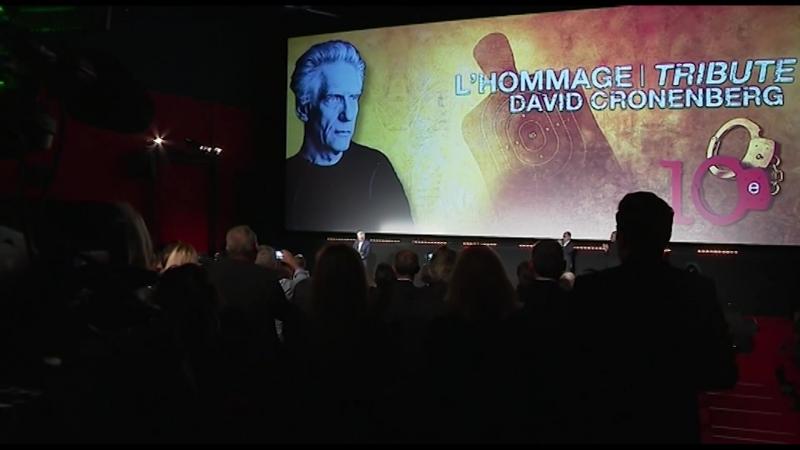 Festival du film policier de Beaune David Cronenberg et Viggo Mortensen au plus près du public