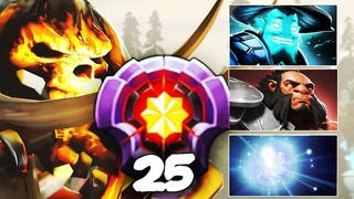 LEVEL 25 Dotaplus EPIC Gameplay Compilation - Storm Spirit, IO, Clinkz, Axe