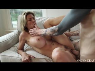Alexis Fawx - Milf Passionate Creampie Sex (Milf, Blowjob, All sex, Big tits, Creampie, Blonde)
