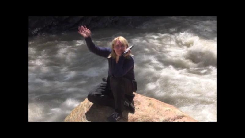 за 7 минут Весенний поход Светочки Цветковой по рекам Грузии (2018, май, Маргарита Минзянова)