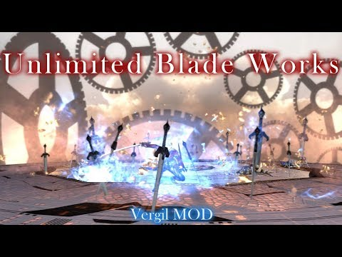 【DMC4SE】 Unlimited Blade Works Showcase 【Vergil MOD】
