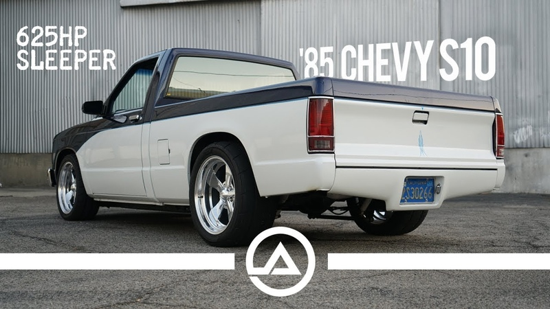 625 hp Sleeper 85 Chevy S10 Pick Up Truck