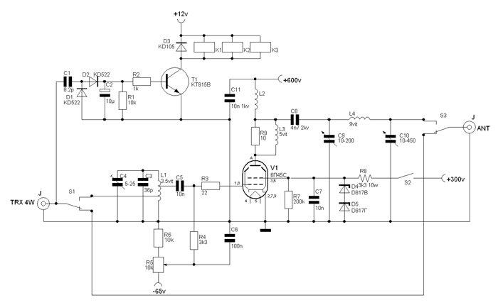 6п45с усилитель - База схем.