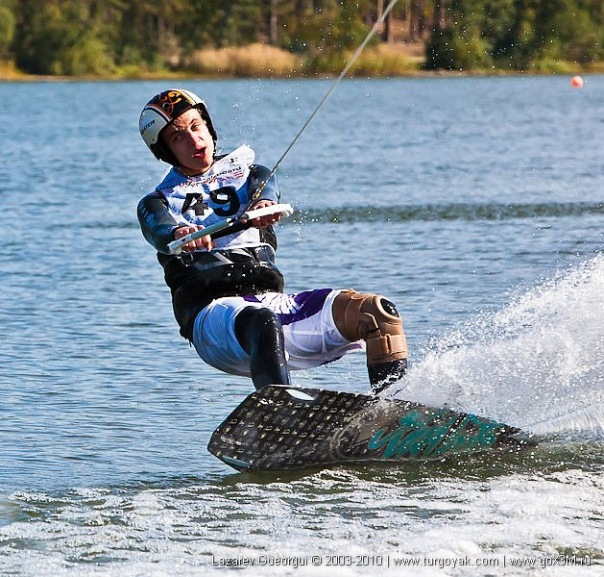 Meisterschaft Wakeboard in Russland