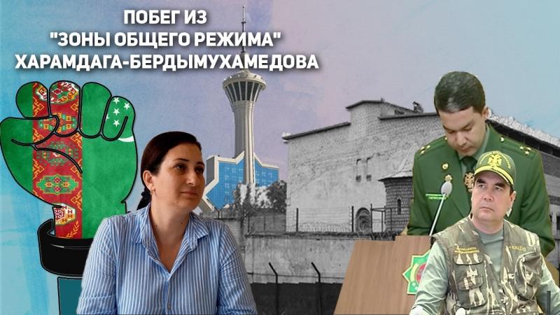 Туркменистан: Побег Из Зоны Общего Режима Харамдага-Бердымухамедова | Недельный Обзор 18 Июня
