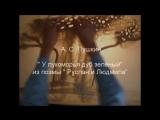 песочная анимация A. Пушкин