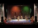 Выступление в Драмтеатре г.Альметьевск-Танец Синий платочек 2кл УНИК 2018