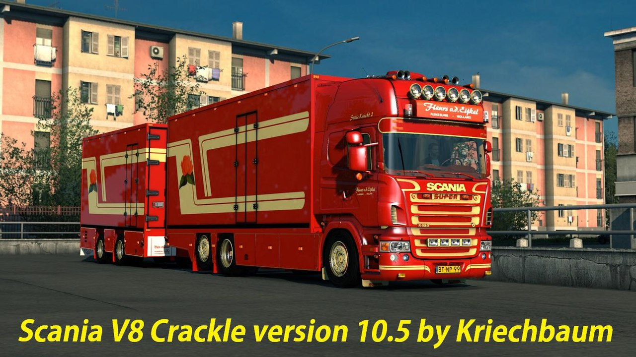 SCANIA V8 CRACKLE V10.5