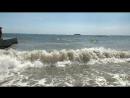 Ялта.Шторм на море