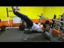 мастер класс от посетителя нашего клуба - Алексея, упражнение на пресс - флаг дракона