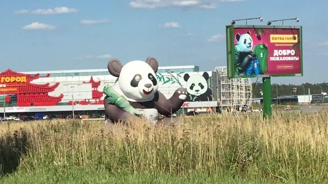 Приветливая панда
