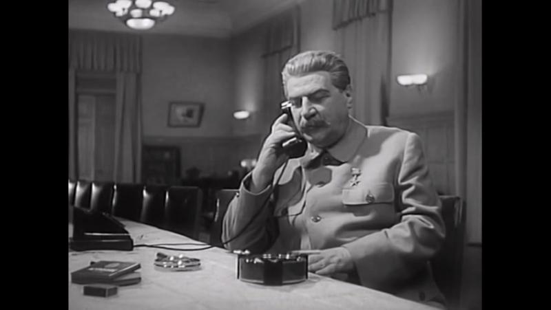СТАЛИНГРАДСКАЯ БИТВА. 2 серия. СССР. Хф. (1948г.)