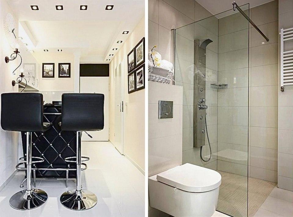 Дизайн квартиры 30 м в Берлине