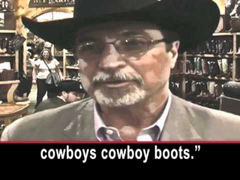 Fancy Cowboy Boots, but No Problem Finding Buyers