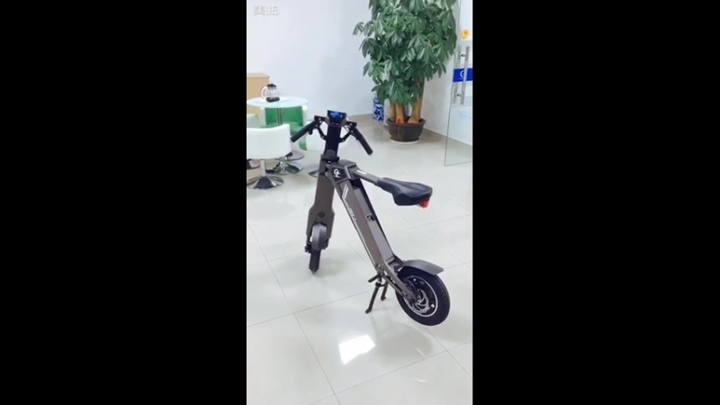One Button Automatic Smart Unfolding-Shenzhen Chanson Automatic Smart Foldable Electric Scooter